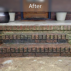 Sinking stairs repaired with PolyLevel® Green Bay