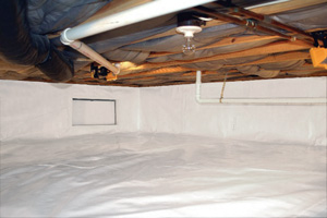 Crawl Space Repair After in Appleton