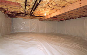 Crawl space vapor barrier system installation in wisconsin crawl crawl space can damage insulation while also causing mold problems cleanspace vapor barrier after in appleton solutioingenieria Choice Image