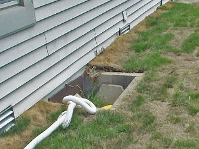 Crawl Space Access Amp Window Wells Installed In Wisconsin