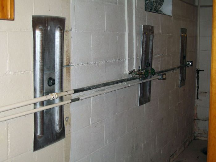 ... Foundation Wall Anchor Plates Installed In A Basement In Oshkosh ...