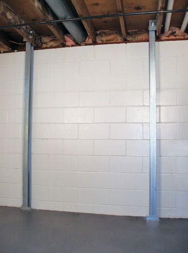 wall repair in greater green bay the powerbrace foundation wall repair