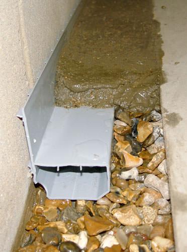 french drain installation appleton green bay oshkosh waterguard