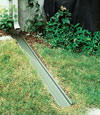 gutter drain extension installed in New London, Wisconsin