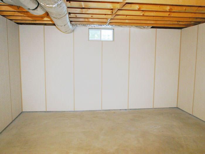 basement wall panels as a basement finishing alternative for menasha