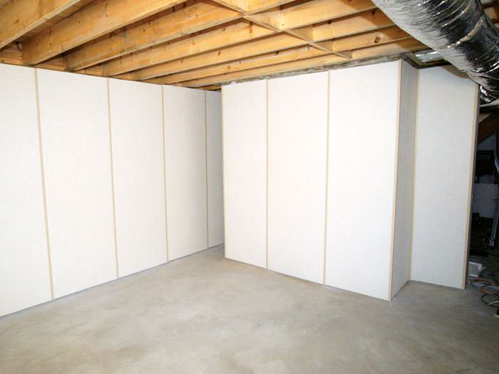 insulated basement wall panels installed in green bay appleton